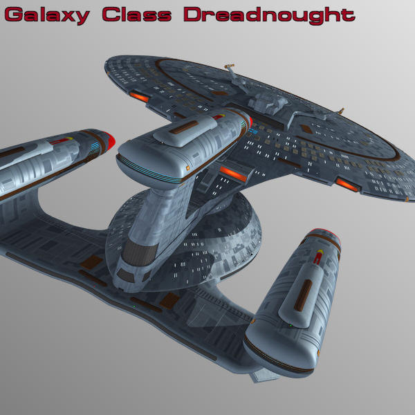 Galaxy Class Dreadnought by mattymanx
