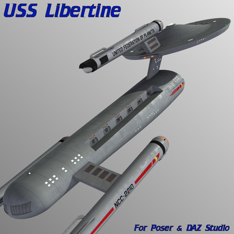 USS Libertine by mattymanx