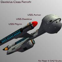 Daedalus Class Retrofit by mattymanx
