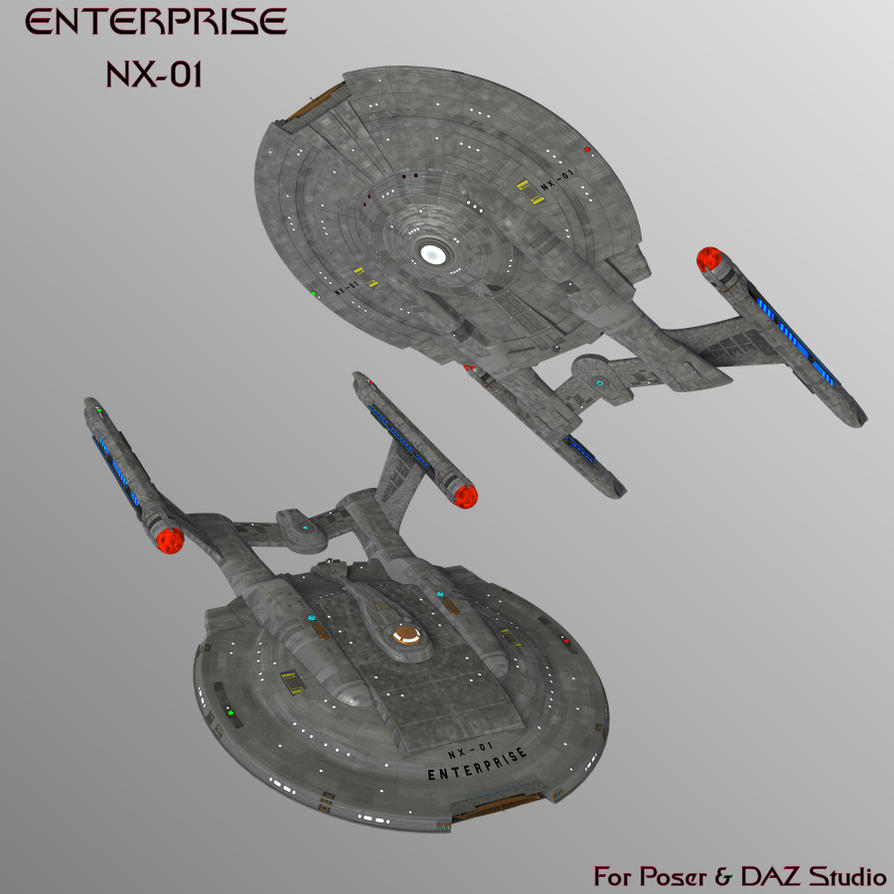 Enterprise NX-01 by mattymanx