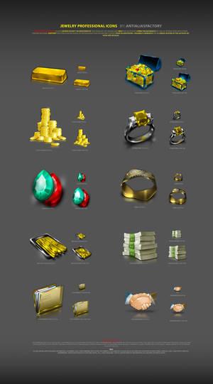 Jewelry Professional Icons