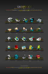 TSTech corp. ERP Dock Icons