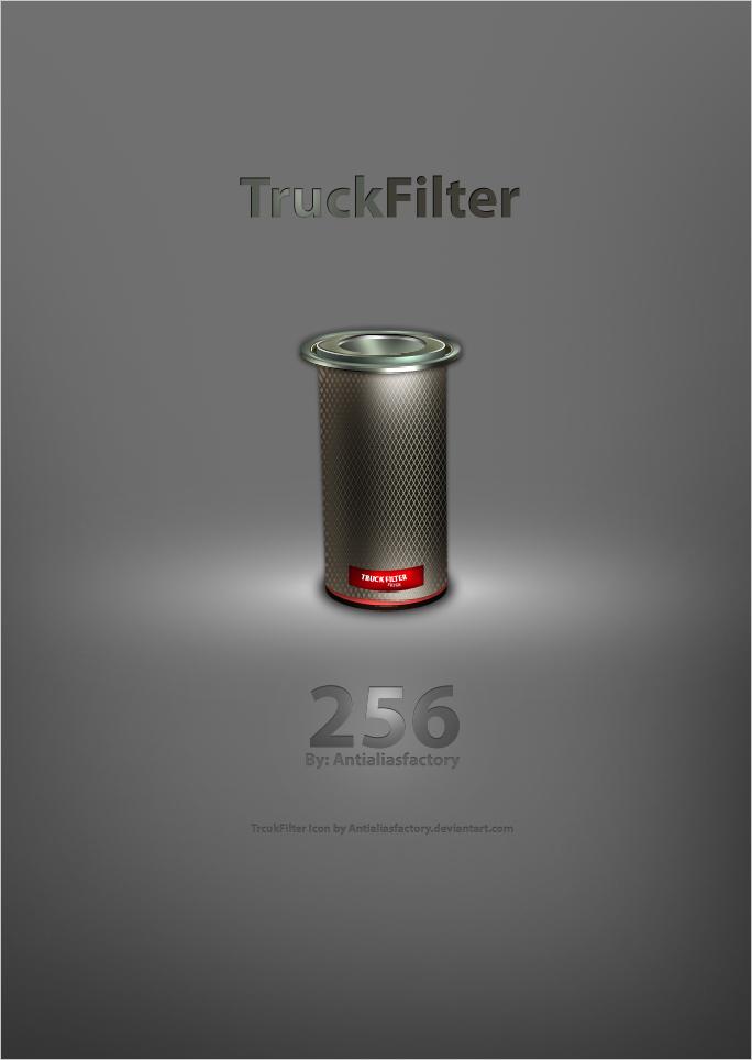 Trcuk Filter Icon by antialiasfactory