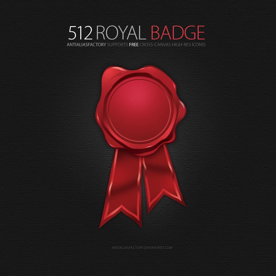 Royal Badge Icon