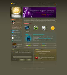 Rayka Web Template - Download by antialiasfactory
