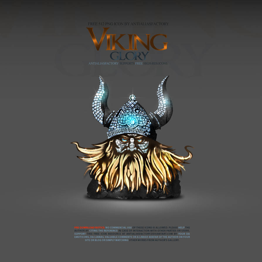 Viking Glory Icon by antialiasfactory