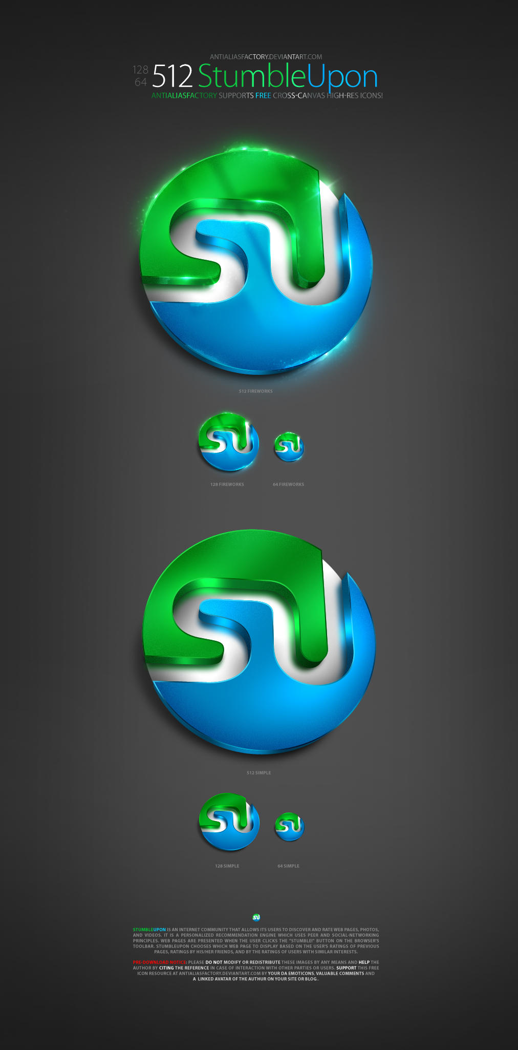 StumbleUpon Icon by antialiasfactory