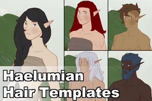 Haelumians Hair Templates