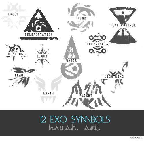 Exo Symbol S Brush By Exoticgeneration21 On Deviantart