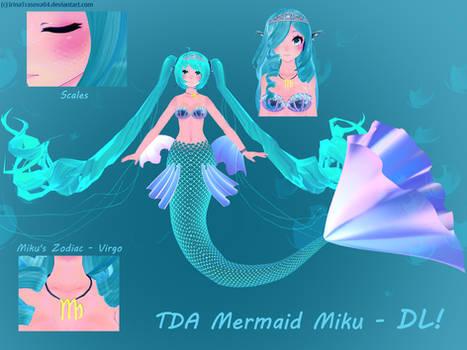 [GIFT FOR 50 WATCHERS] TDA Mermaid Miku V2