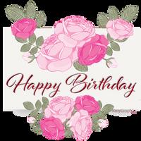 Happy Birthday Delice by KmyGraphic