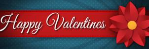 Valentine Banner by KmyGraphic