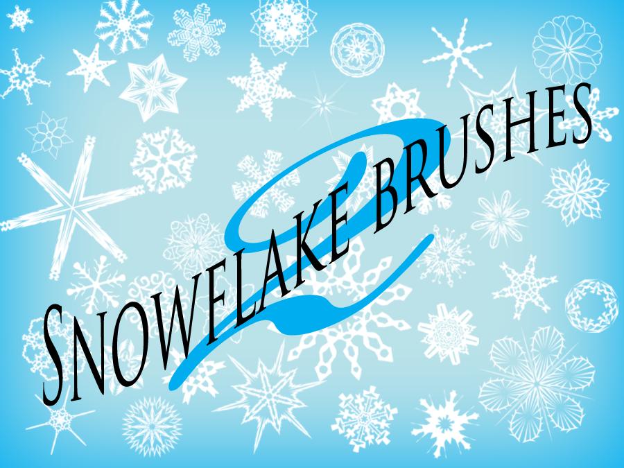 101 Snowflake Brushes
