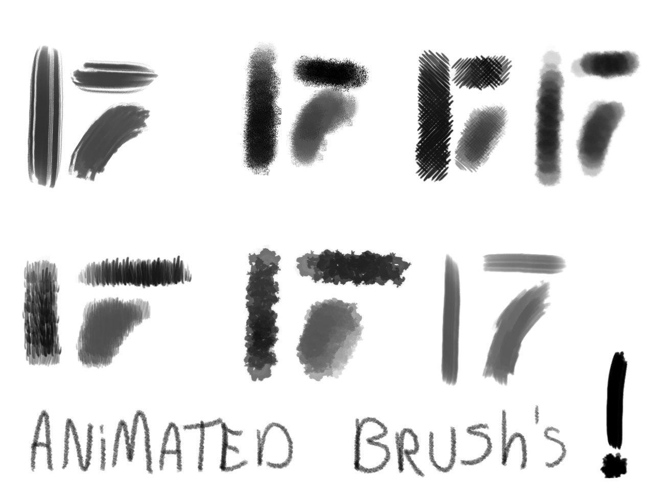 GIMP Animated Brushes - 1 by Filsd