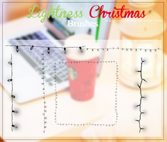 Ligthness Christmas Brushes by DreamingTutorials