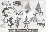 Old Toy Illustration Brushes