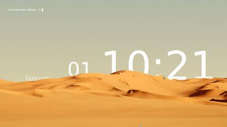 Sands of Time Linux desktop