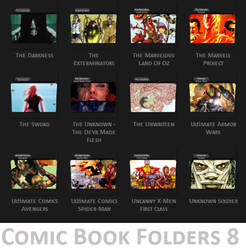 Comic Book Folder Icons 8