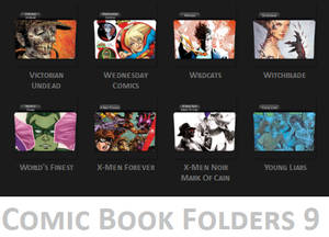 Comic Book Folder Icons 9