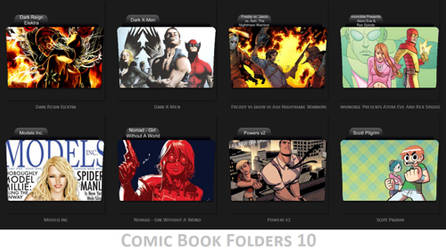 Comic Book Folder Icons 10