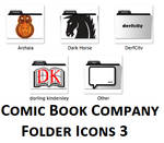 Comic Book Company Folders 3