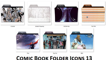 Comic Book Folder Icons 13