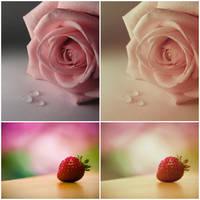 Sweet pink vintage by Bokehlie
