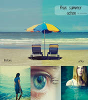 Blue summer action by bokehlie by Bokehlie