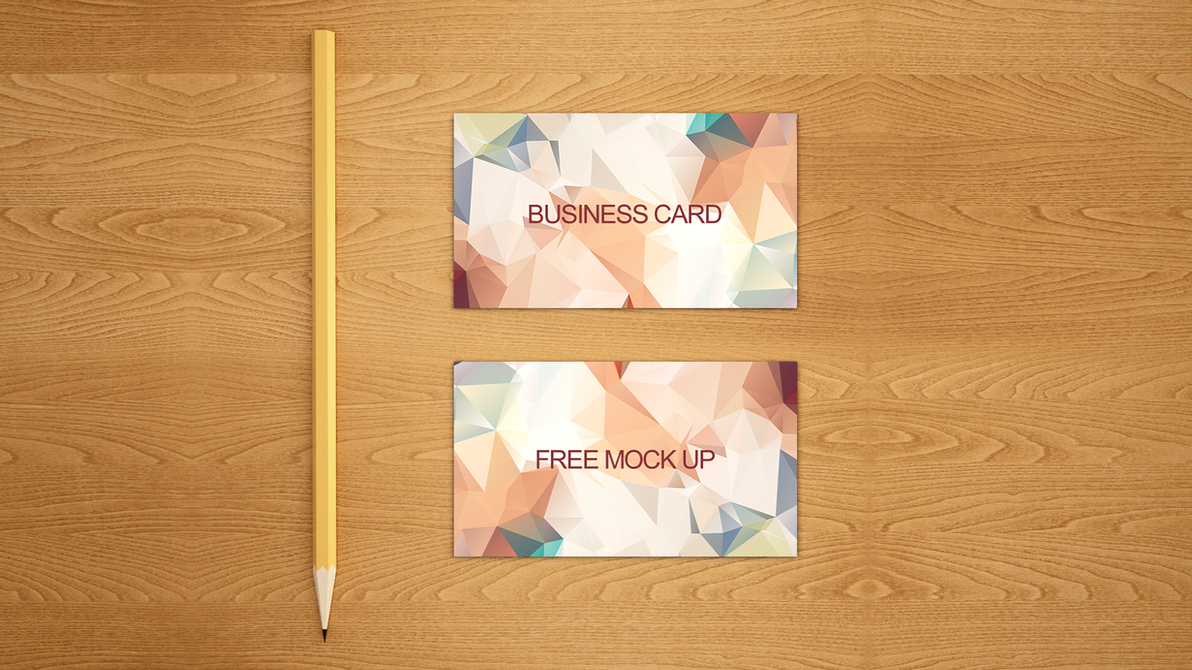 Business card free mock up PSD by dimkoops on DeviantArt
