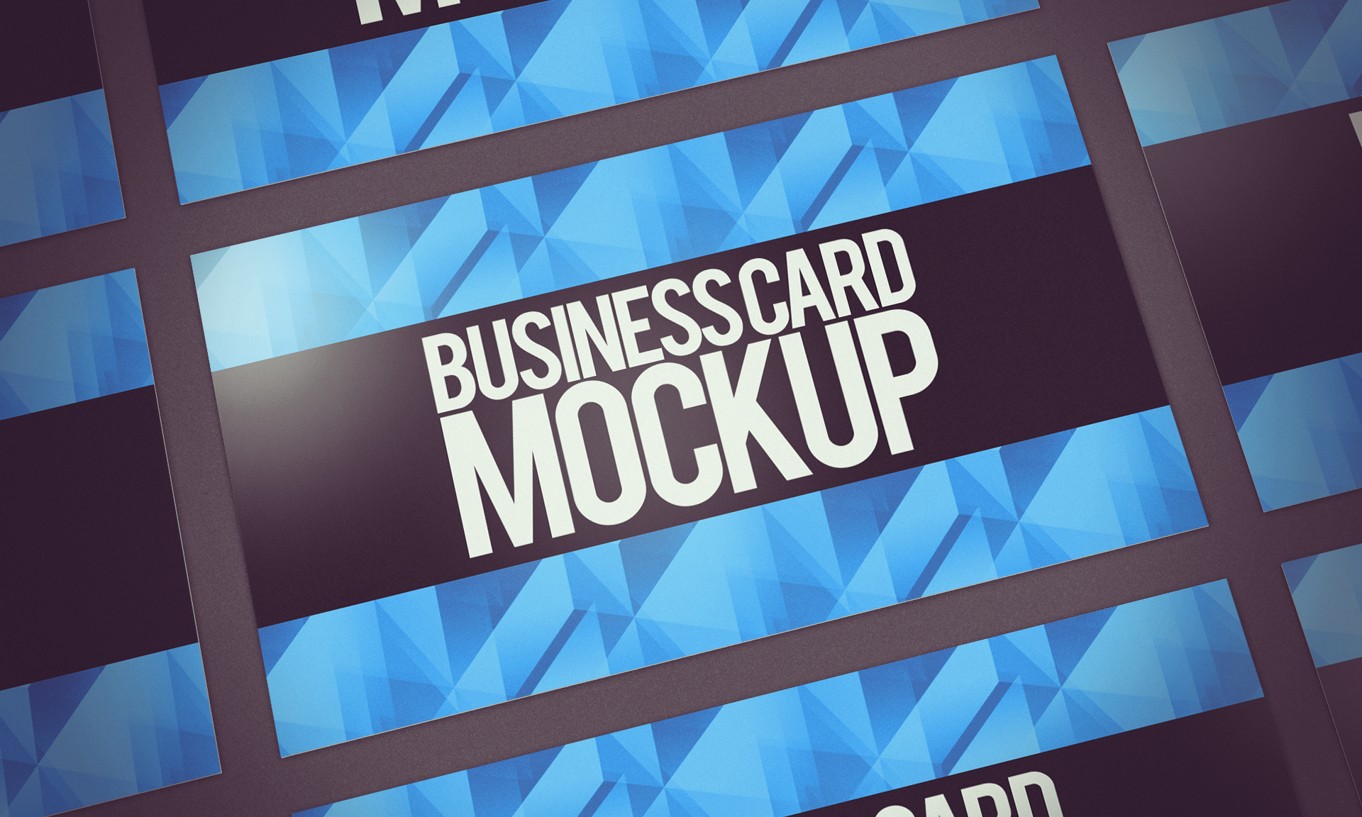 Business card mockup PSD by dimkoops