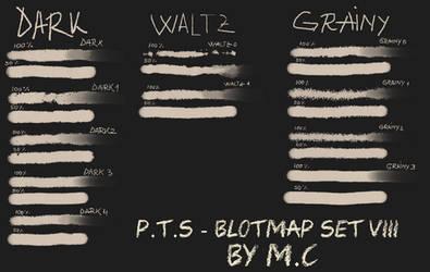 P.T.S - Blotmap Set VIII by K-OG