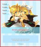 Len Rin Kagamine Journal Skin by Miitamite