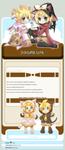 Len Rin Kagamine 2 Journal by Miitamite