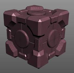 Companion Cube .obj