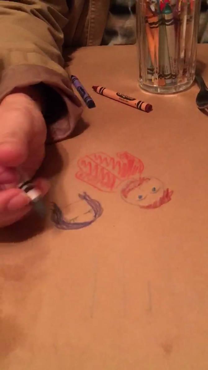 Crayon Time Lapse
