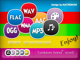 Symbian Anna icons by ELECTRON1CK