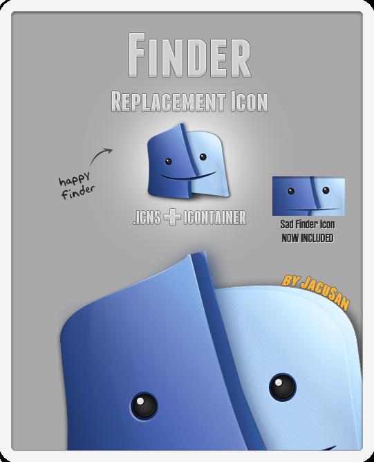 JacuSan's Finder Icon by JacuSan