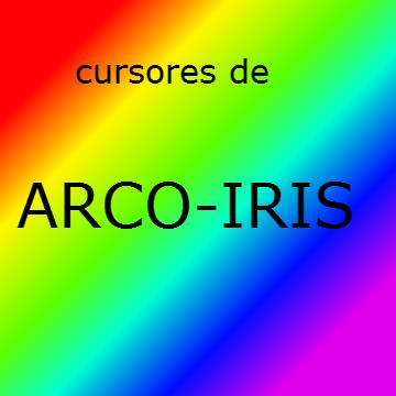 Cursores de arcoiris by thepsychopath14