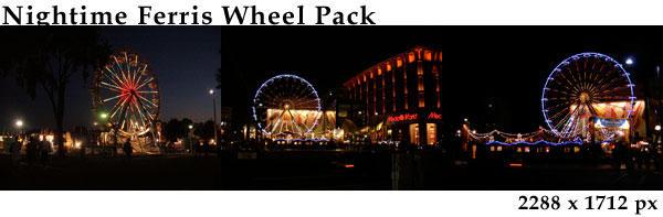 Nightime Ferris Wheel Pack