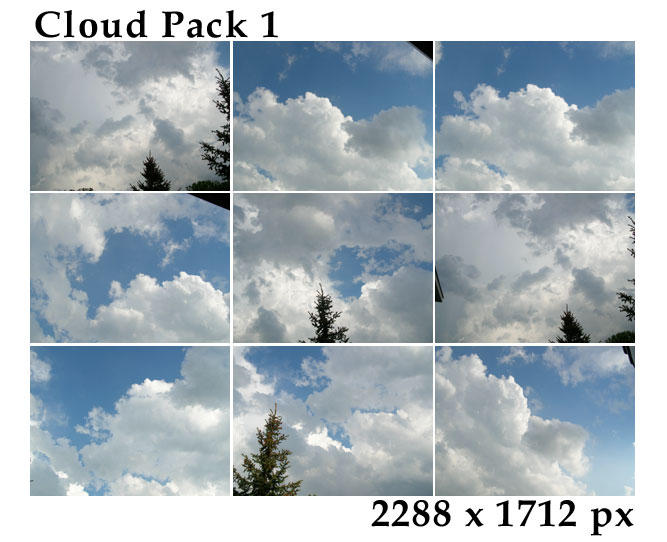 Cloud Pack 1 by tennyoSTOCK