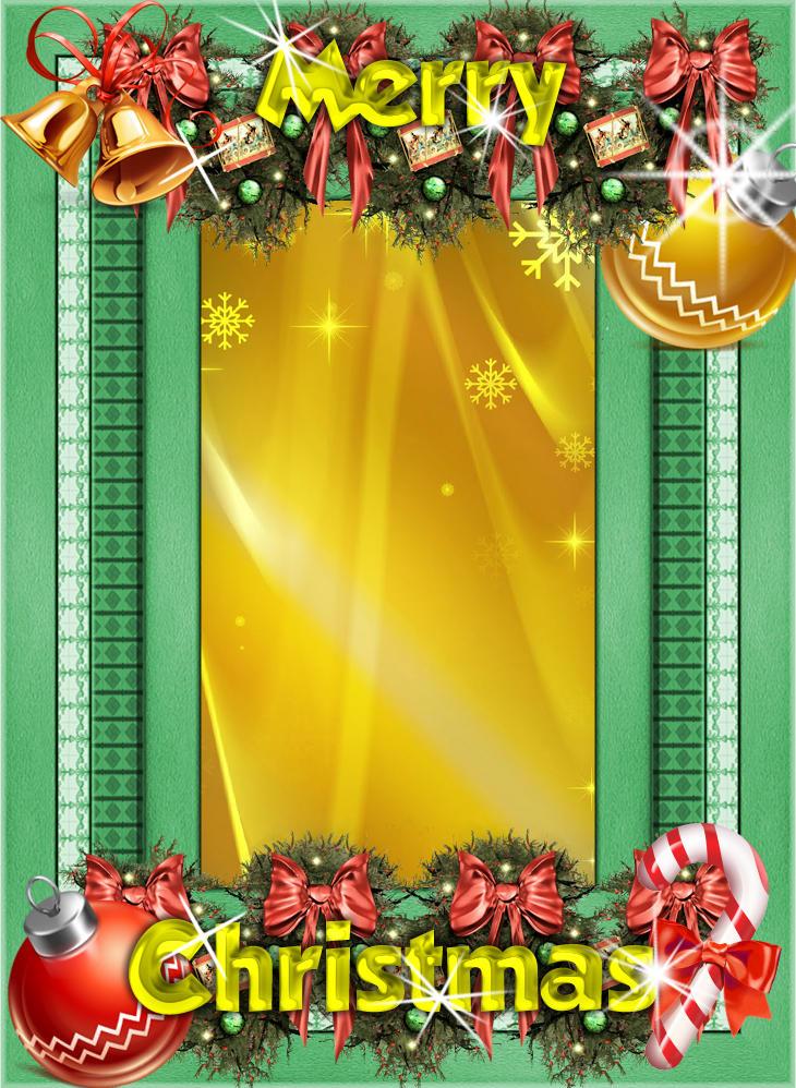 christmas frame vertical