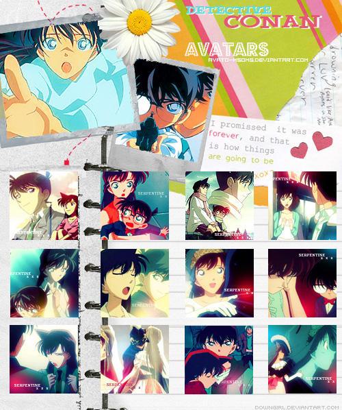 Carnet D'avatars Ran/Shinichi