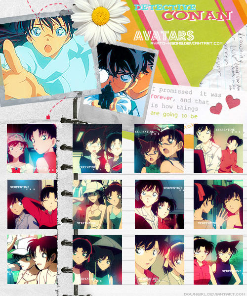 Carnet d'Avatars Ran et Kazuha