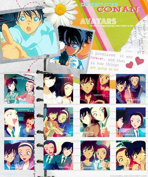 Carnet d'avatars Ran et Sonoko