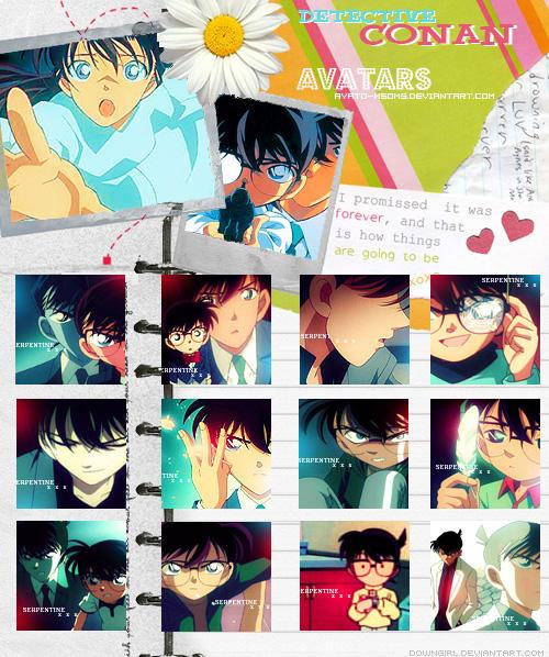 Carnet D'avatars Shinichi/Conan