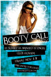FREE PSD FLYER - Booty Call Party