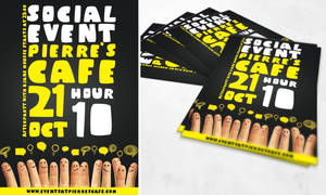 FREE PSD FLYER - Social event flyer by PrintDesign