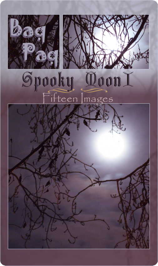 Spooky Moon I Pack by Baq-Stock
