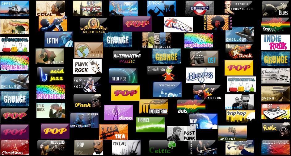 Music Genres by Znidarsic on DeviantArt