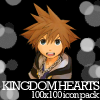 Kingdom Hearts icon pack by StrigineSensibility